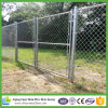 5*5cm Mesh Fencing Commercial Galvanized Chain Link Fencing with Barbed Wire