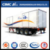 Cimc Huajun 3axle Van/Box Trailer with Inside Locks
