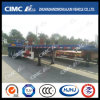 Cimc Huajun 3axle Flatbed Semi Trailer (SEMI-KNOCKED DOWN FORM)