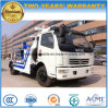 Dongfeng LHD Rhd 6t Wreck Towing Truck for Sale