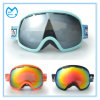 Dark Mirrored PC Lens OTG Sports Eyewear Snowboarding Goggles