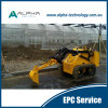Alm007 Small Loader Electric Skid Steer Mini Loader