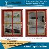 Aluminium Alloy Door with Golden Teak Color (Z-024025)