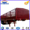 3 Axles Two Storages Livestock Trailer for Cattle Transortation