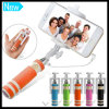 Foldable Super Handheld Extendable Monopod Mini Wired Selfie Stick