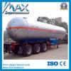 Pressure Tank Trailer 60m3 LPG Methane Gas Storage Bullet Tank for Sale