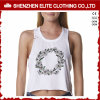 2017 Summer Cheap Custom Made 100 Cotton Crop Tank Top for Women (ELTWBJ-33)