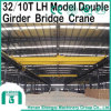 3-20t Lh Type Double Girder Overhead Crane with Hoist