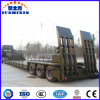 3 Axle Low Bed Truck Detachable Gooseneck Semi Trailer