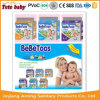 2016 Top Quality PE Tape Bebetoos Colourful Disposable Baby Diaper