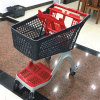 Chinese Supplier New Style Folding Full Plastic Shopping Cart