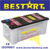 N150 12V 150ah Dry Charged Car Battery Truck Battery