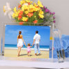 Clear Acrylic Frames Wedding Photo Frame with Screw