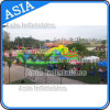 Inflatable Jurassic Theme Water Park Games with Slide