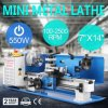 7 X 14-Inches Variable Speed 2500 Rpm 550W Mini Metal Lathe
