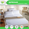 One White Quilted Elastic Mattress Protection Pad with Filling Hotel Mattress Cover
