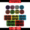 2017 New Shape / Crystal Acrylic Poker Chips with Crown Screen Casino Chip Ym-Cp026/Cp027