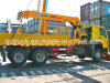 Truck with Crane, 10-12 Tons Truck Mounted Crane, Crane Truck