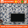 Abstract Design 3D PVC Bedroom Wallpaper