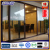 Grey Color Aluminum Framed Double Glass Lift and Sliding Door with Screen