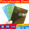 SGS Approved PC Polycarbonate Hollow Sheet Solid Sheet UV Coated Corrugated Sheet