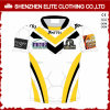 Fashionable Quick Dry Custom Sublimated Rugby Jersey (ELTRJI-19)