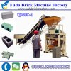 Popular Brand Brick Block Making Machine with High Quality