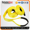 Heavy Duty Polyester Tow Strap Belt with Reinforced Loop Ends