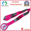 Custom Silk Print/Heat Transfer Printing Medal Ribbon