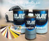 Car Refinish Metallic Silver Automotive Paint