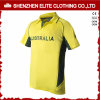 Custom Made Popular Quick Dry Yellow Cricket Jersey (ELTCJI-13)