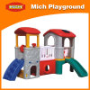 Children Small Plastic Play House with Slide