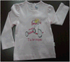 2014 Children, Kids, Girls New Fashion Apparel Clothing Graphic T Shirt (YHR-K13008)