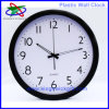 2013 New Modern Home Decorative 12 Inch Round Quartz Plastic Wall Clock (PWC4701)