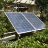 Solar Ground Panel Mounting Structure and Solar Panel Frame