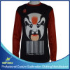 Custom Sublimation Men′s Long Sleeve Lacrosse Shooting Shirt