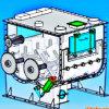 Chemical Powder Mixing Machine (dual shaft type)