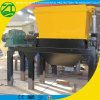Tyre Crusher Plastic Shredding Machine Single Shaft Bag Pipe Shredder