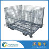 Steel Wire Mesh Pallet Cage for Warehouse Storage