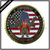 Professional Zinc Alloy Metal Coin for Organization Emblem (BYH-10464)