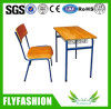 Factory Price Used School Student Single Desk and Chair (SF-82S)