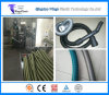 EVA LLDPE Spiral Winding Cleaner Hose / Pipe Making Machine, Plastic Pipe Extruder Line
