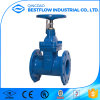 Soft Seal Ductile Iron Nrs Flange Gate Valve