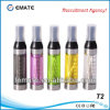 2.4ml E-Cigarette Cartomizer, Clear Atomizer, Clearomizer (T2)
