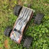 1/10 Electric Metal Chassis Black Shell Body Hobby RC Car Model