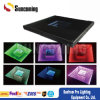 China Special Effect 3D Mirror Time Tunnel LED Dance Floor Tiles