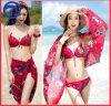 Digital Printing Bikini 3PCS Set Anti-UV Function