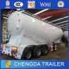 China 3 Axles Bulk Powder Semi-Trailer/ 45m3 Cement Bulk Trailer