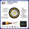 Outdoor Communication Fiber Cable ADSS Optical Fiber Cable