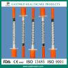 Sterile Disposable Insulin Syringes U-100 (1ml, 0.5ml, 0.3ml)